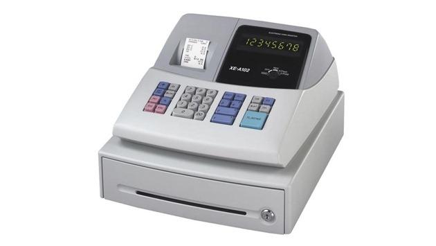 Регистрация кассового аппарата в году Контрольная лента и  Кассовый аппарат